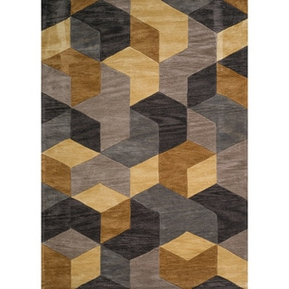 Christopher Knight Home Winifred Cathy Gold Polyester Rug (5' x 7')