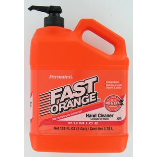 Permatex 25219 1 Gallon Fast Orange Pumice Lotion Hand Cleaner