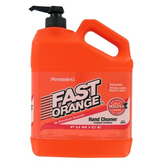 Permatex 25217 1/2 Gallon Fast Orange Pumice Lotion Hand Cleaner