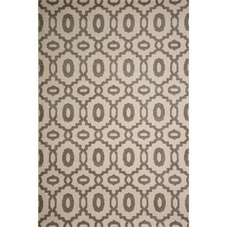 Christopher Knight Home Prudence Mercy Snow Geometric Rug (5' x 8')