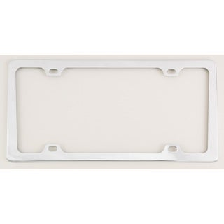 Bell 46035-8 Chrome Monterey License Plate Frame