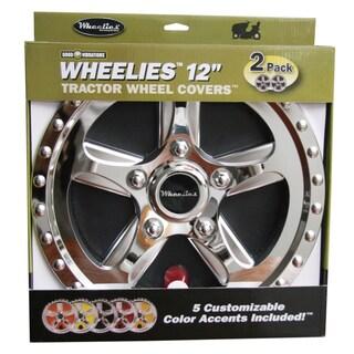 Good Vibrations 182 12-inch Good Vibrations Wheelies Tractor Wheel Covers