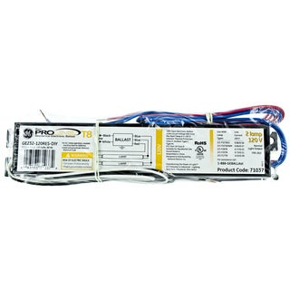 GE Lighting 93884 2 Lamp 120 Volt Residential Electronic Ballast