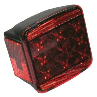 PM V840L LED Stop Turn & Tail Light With License Light
