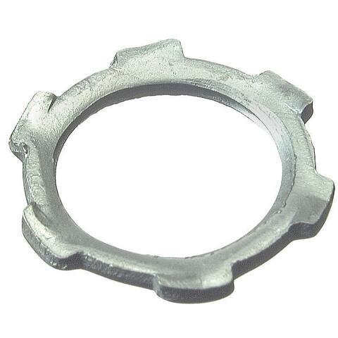 "Halex 26195 10-count 1-1/2"" Steel Conduit Locknut"