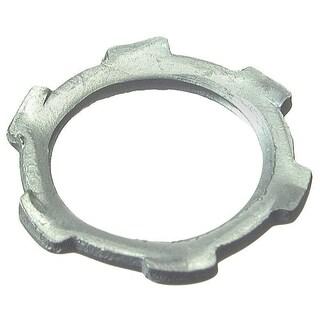 "Halex 26194 10-count 1-1/4"" Steel Conduit Locknut"