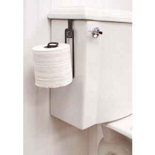 Simplify Over-the-tank Bronze Finished Toilet Roll Holder