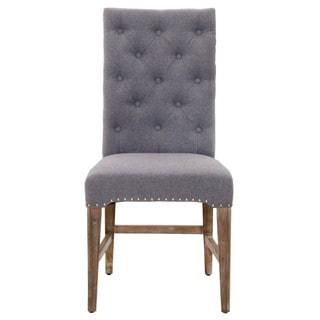 Gray Manor Benjamin Grey Dining Chair (Set of 2)