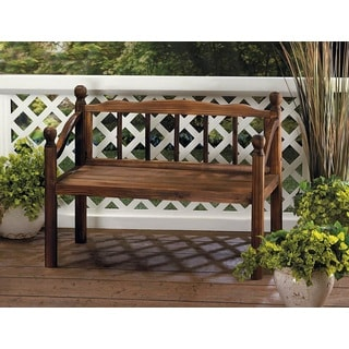 Richmond Wooden Brown Wood Plant Bench