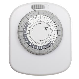Amertac TM20DHB 4-Outlet Indoor Mechanical Timer|https://ak1.ostkcdn.com/images/products/11951276/P18837937.jpg?impolicy=medium