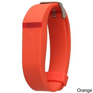 Olivia Pratt Silicone Fitness Tracker Replacement Band (Option: Orange)