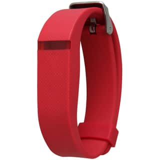 Olivia Pratt Silicone Fitness Tracker Replacement Band|https://ak1.ostkcdn.com/images/products/11951283/P18837908.jpg?impolicy=medium