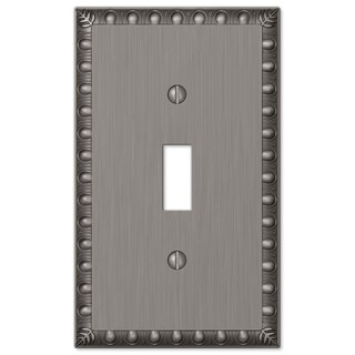 Amertac 90TAN 1 Toggle Antique Nickel Wallplate