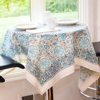 Blue Texana Table Cloth