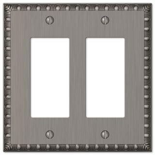 Amertac 90RRAN 2 Rocker Antique Nickel Wallplate