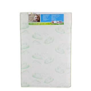 Dream On Me Vinyl 3-inch Inner Spring Play Yard Square Corner Mattress