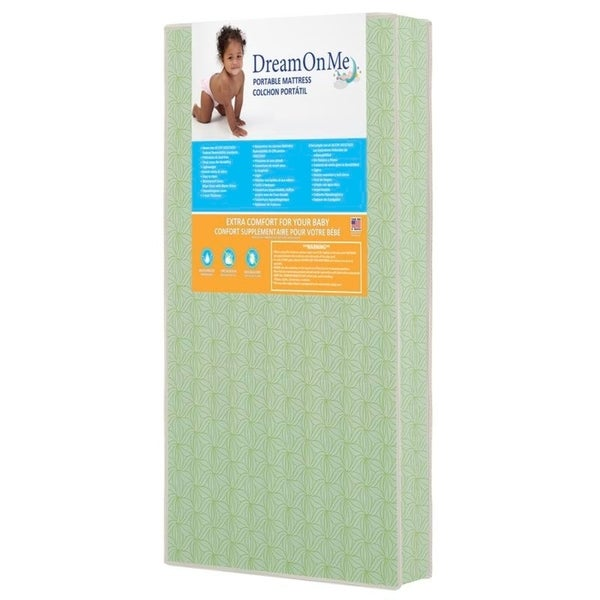 Shop Dream On Me 5 Inch Foam Playard Mattress Free