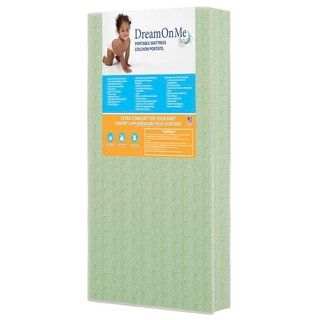 Dream On Me 5-inch Double-sided Play Yard Foam Mattress
