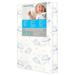 Dream On Me 5-inch Spring Coil Portable Crib Mattress