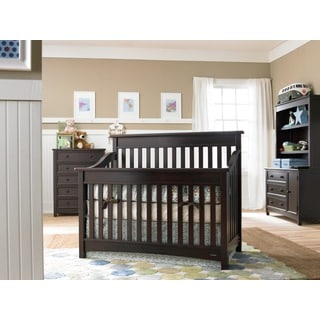 Dream On Me Mia Moda Peyton LifeStyle Espresso-finish Wood 5-in-1 Convertible Crib