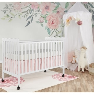 Dream On Me Classic White Wood 2-in-1 Convertible Crib