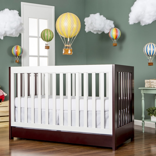 Shop Dream On Me Milano Brown White Wood 5 In 1