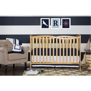 Dream on Me Chelsea Natural Wood 5-in-1 Convertible Crib