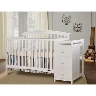 Dream On Me Niko, 5 in 1 Convertible Crib with Changer