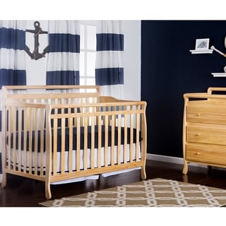 Liberty Natural Wood 5-in-1 Convertible Crib