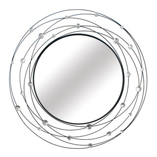 Stratton Home Decor Indoor Round Acrylic Mirror