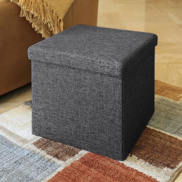Fabulous Shop Porch Den Danbury Charcoal Grey Foldable Storage Ncnpc Chair Design For Home Ncnpcorg