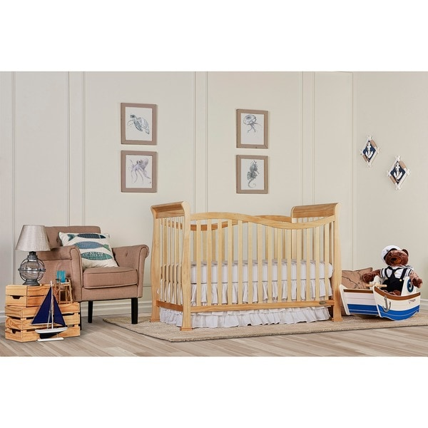 Dream on Me Violet 7-in-1 Convertible Life Style Crib - Natural