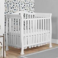 Dream On Me Naples Mini Crib - White