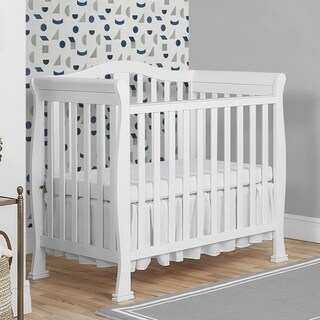 Dream On Me Naples Mini Crib (Option: White)