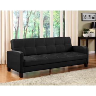 DHP Delaney Black Sofa Sleeper