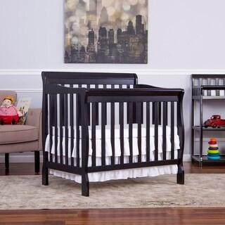 Dream On Me Aden Convertible 4-in-1 Mini Crib - Black