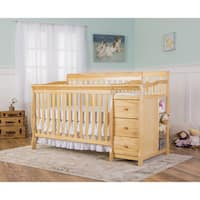 Dream On Me 5-in-1 Brody Natural Convertible Crib with Changer