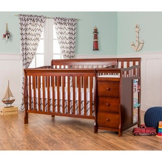 Dream on Me Brody Espresso-finished Wood 5-in-1 Convertible Crib