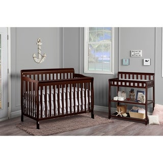 Dream On Me Ashton Espresso 5-in-1 Convertible Crib