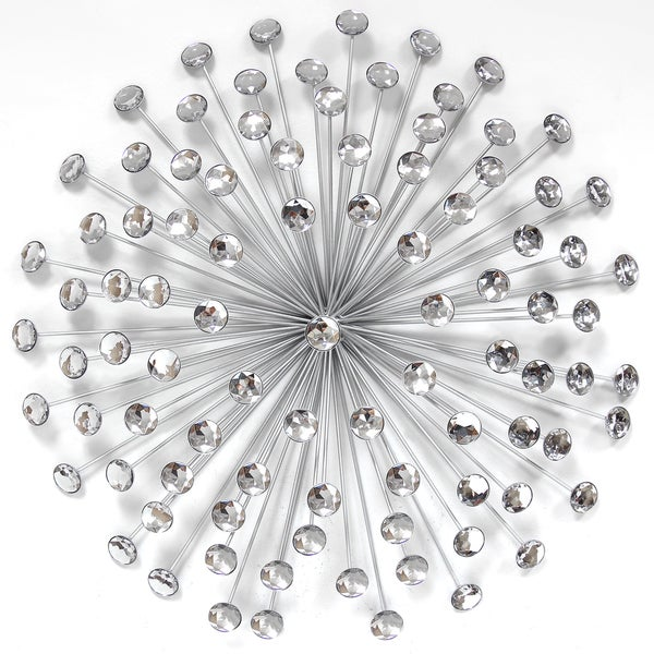 Shop Carson Carrington Degerfors Silver 24 Inch Wall Decor