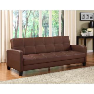 DHP Delaney Brown Sofa Sleeper