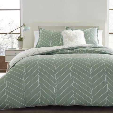 Carson Carrington Bramming Green Cotton Comforter Set