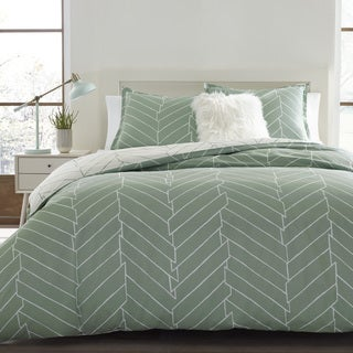City Scene Ceres Green Cotton Comforter Set