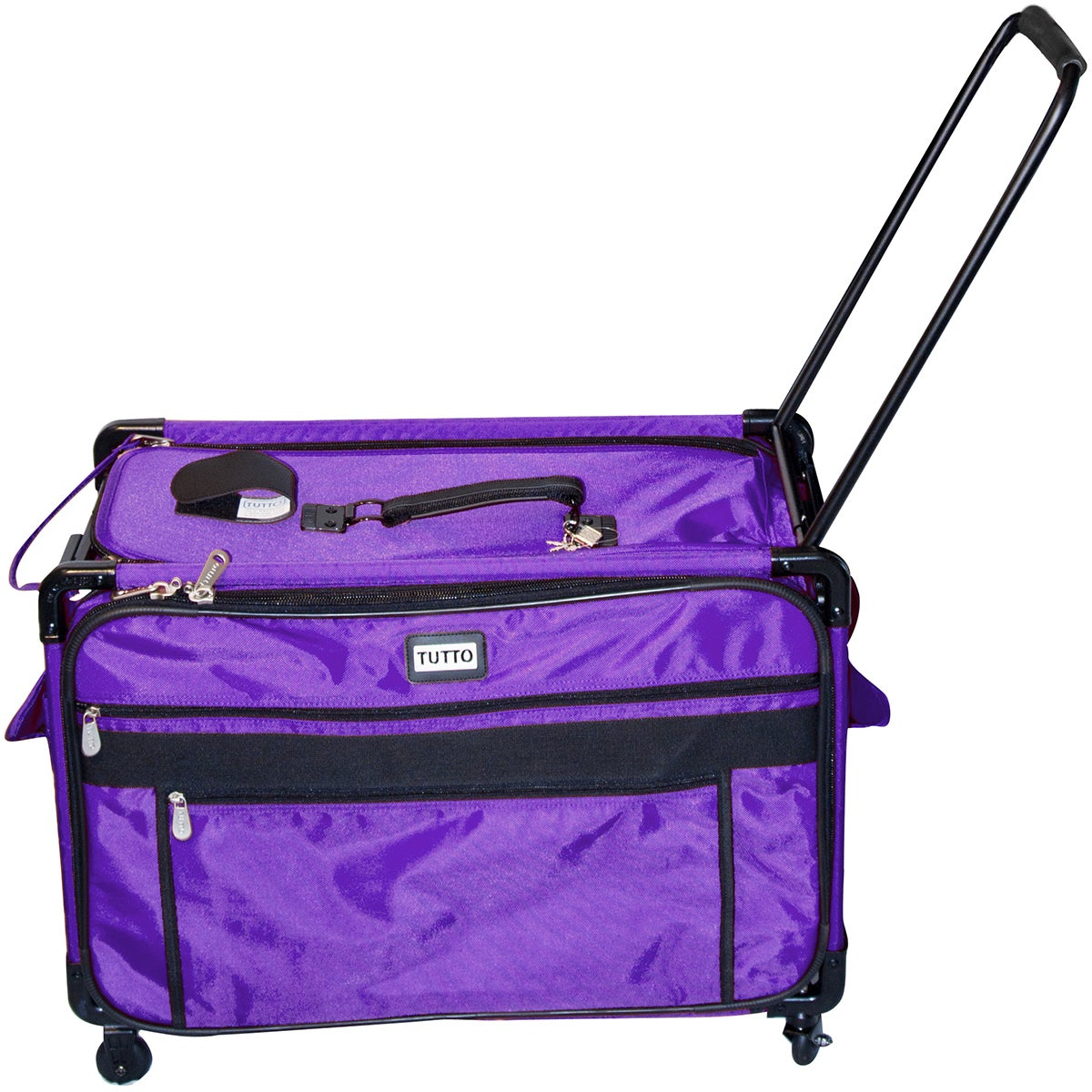 Tutto L Machine On Wheels Sewing Case Turquoise