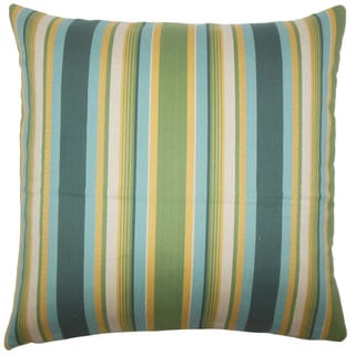 Tefo Striped Throw Pillow Cover Cabana