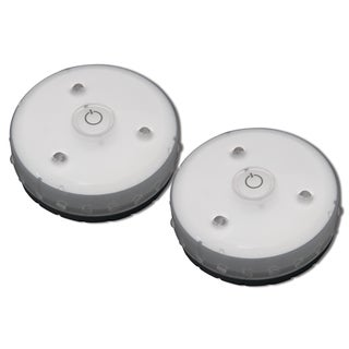 Rite Lite LED Battery-Operated Puck Light 2 pk