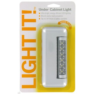 Fulcrum Products Inc 20042-301 6 LED Under Cabinet Tap Light