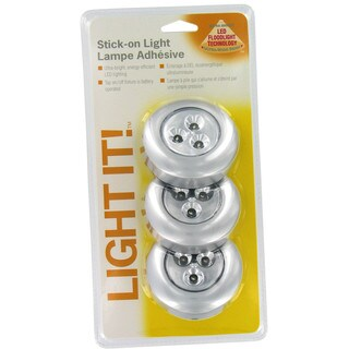 Stick-on Battery Tap Light