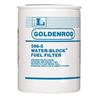 Goldenrod 596-5 Water-Block Spin-On Fuel Filter