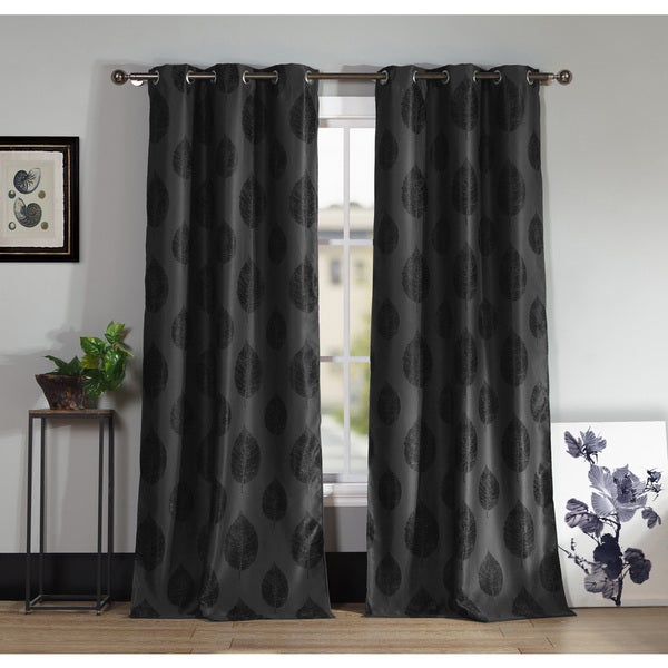 Iselin 96 Inch Blackout Curtain Panel Pair Free Shipping Today 18838720